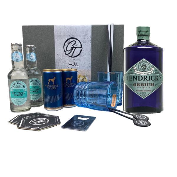 "Hendrick's Orbium Gin ""Limited Edition""& Tonic Geschenkeset"