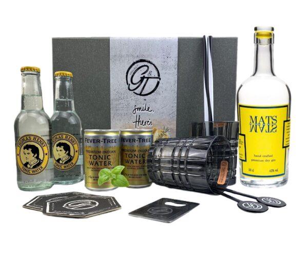 MATS Premium Dry Gin & Tonic Geschenkeset