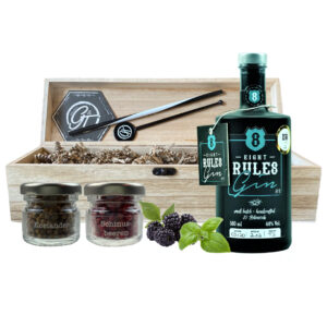 8 Rules Gin Botanical Box