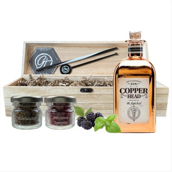 Copperhead The Original Gin & Botanical Box