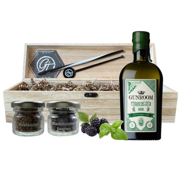 Gunroom Gin & Botanical Box