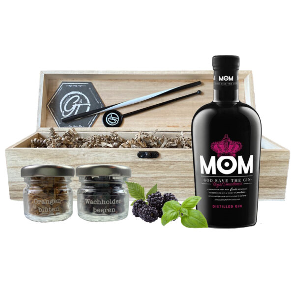 MoM Gin & Botanical Box