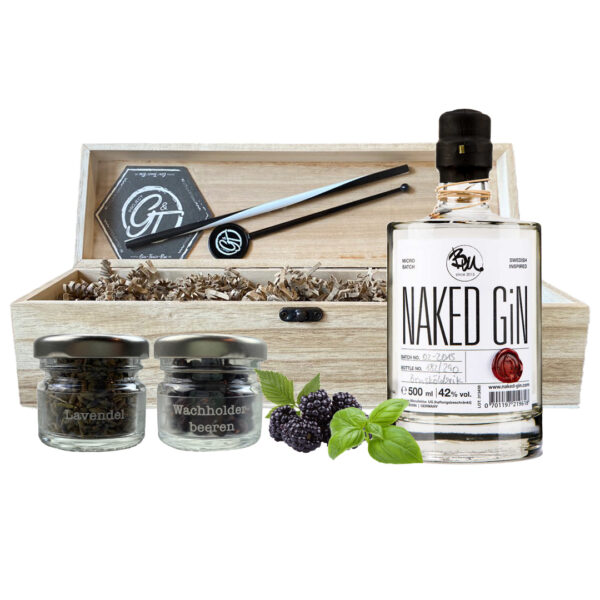 Naked Gin & Botanical Box