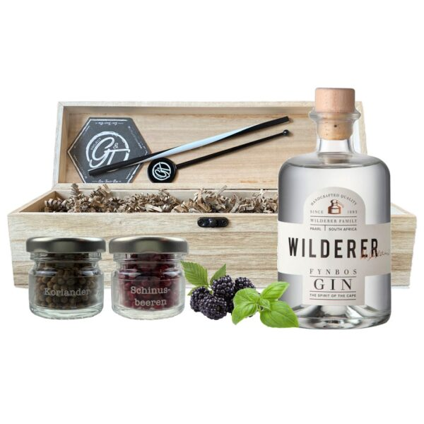 Wilderer Fynbos Gin & Botanical Box