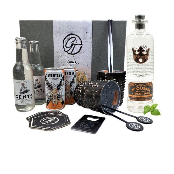 McQueen & Violet Fog Gin & Tonic Geschenkeset