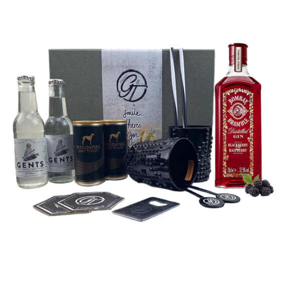 Bramble Distilled Gin Bombay Sapphire & Tonic Geschenkeset