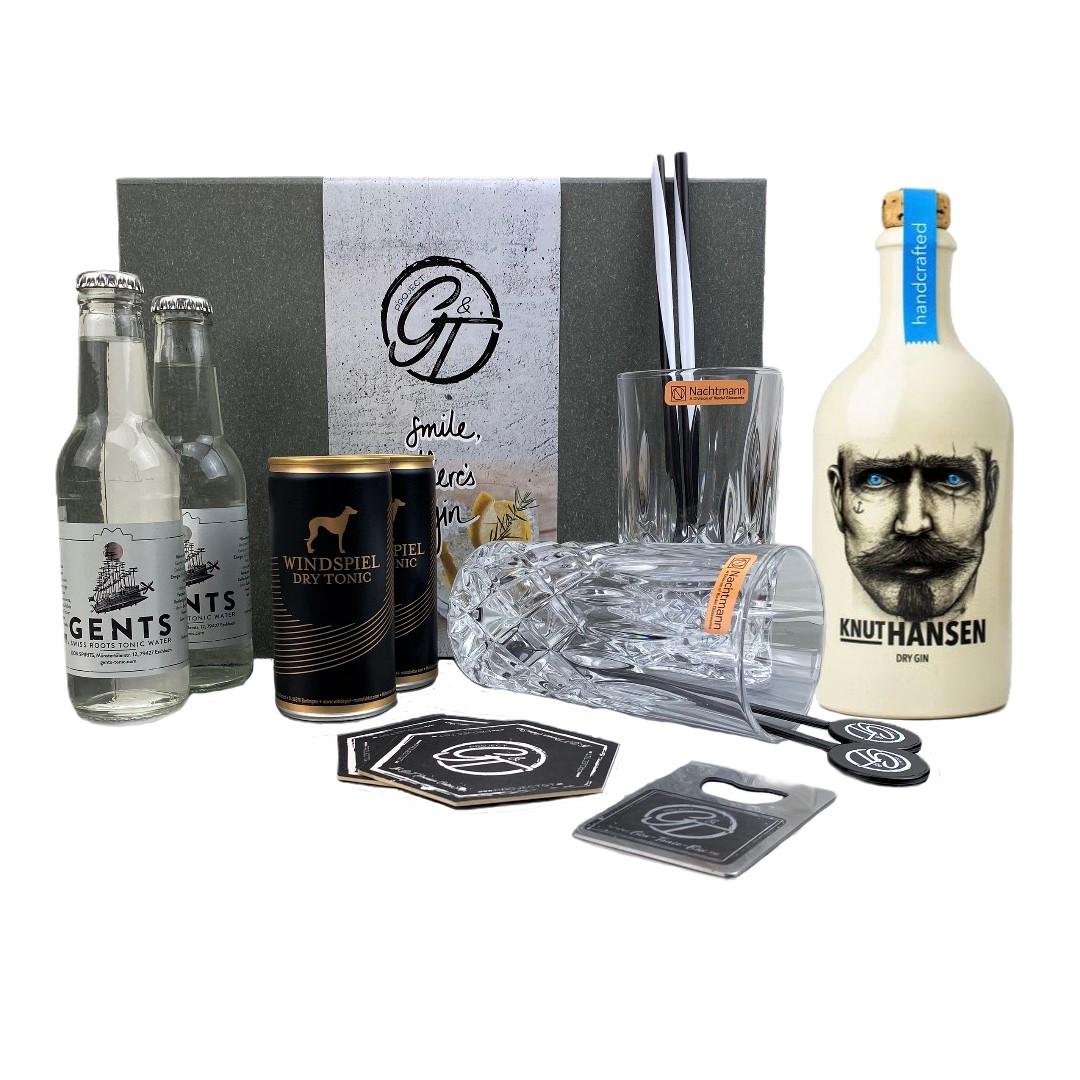 Knut Hansen Dry Gin & Tonic Geschenkeset