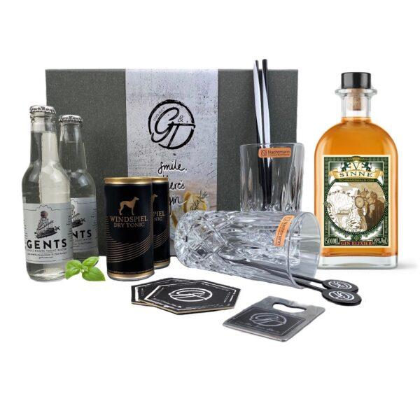 V-SINNE Gin Elixier * Limited Edition & Tonic Geschenkeset