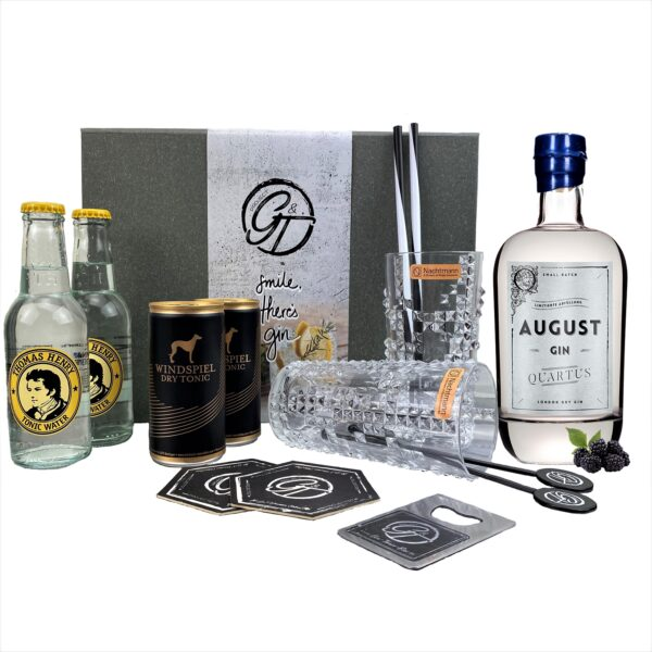 "August Gin ""Quartus"" Limeted Edition & Tonic Geschenkeset"