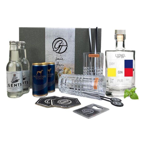 Lyonel Dry Gin & Tonic Geschenkeset