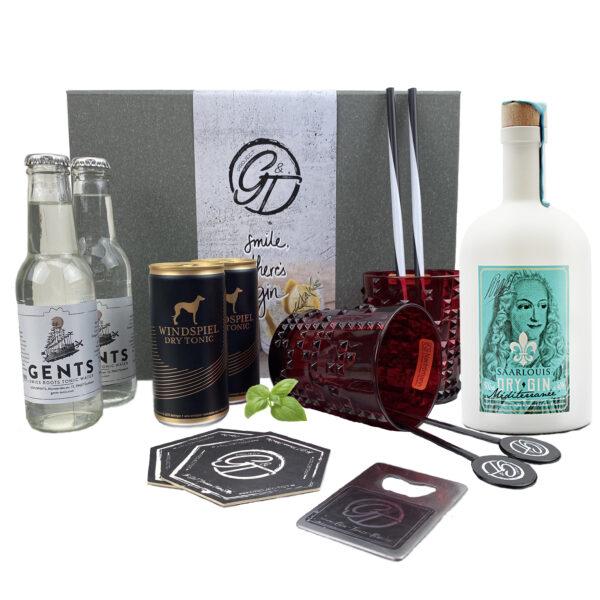 Gin Louis Mediterranee & Tonic Geschenkeset