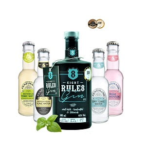 8 Rules Gin - Just enjoy - only 8 Rules Gin.