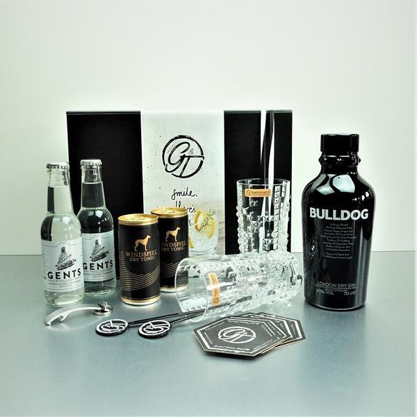 Bulldog Gin & Tonic Geschenkeset