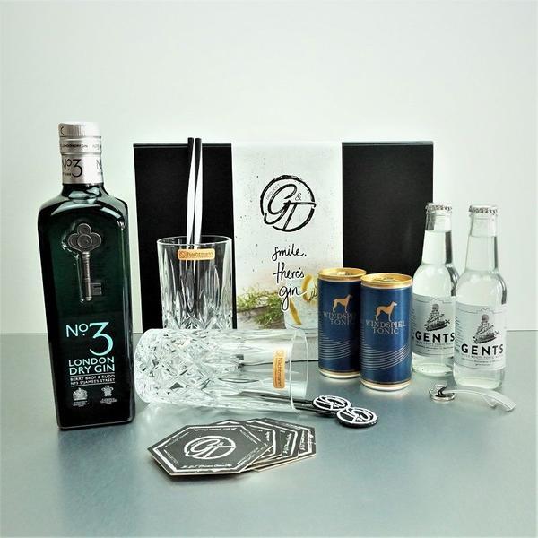 No.3 London Dry Gin & Tonic Geschenkeset