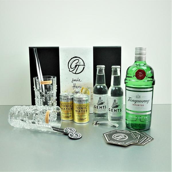 Tanqueray Dry Gin & Tonic Geschenkeset