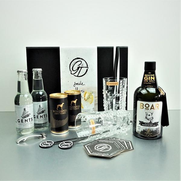 Boar Gin & Tonic Geschenkeset
