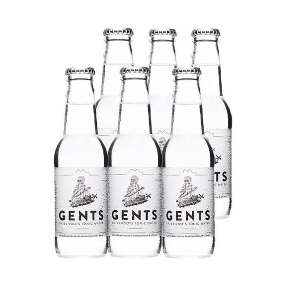 6 Fl. GENTS SWISS ROOTS TONIC WATER