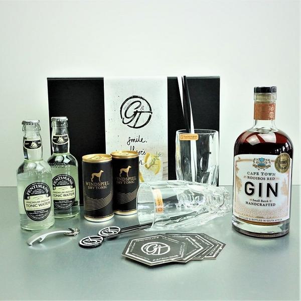 Cape Town Rooibos Gin & Tonic Geschenkeset