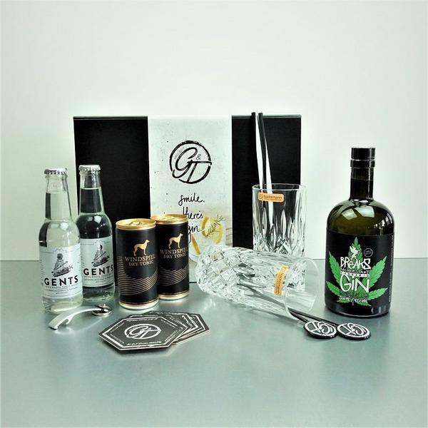 Cannabis Breaks Gin & Tonic Geschenkeset