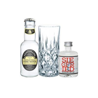 Siegfried Gin Tasting Set incl. Nachtmann Glas