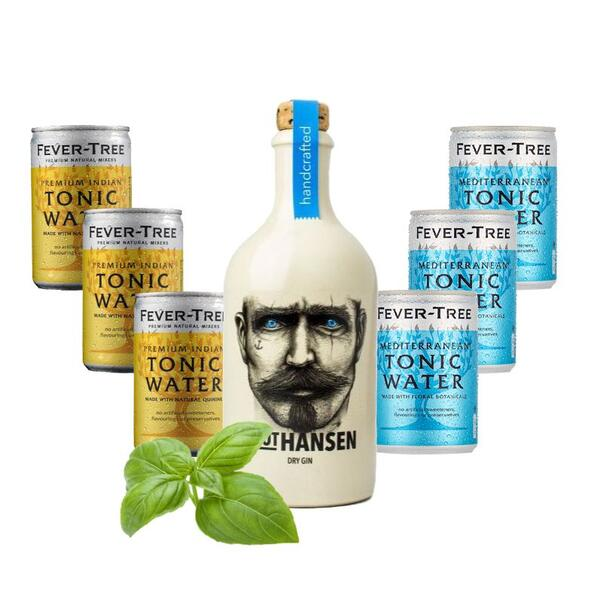 Knut Hansen Dry Gin & Fever Tree Tasting Mix