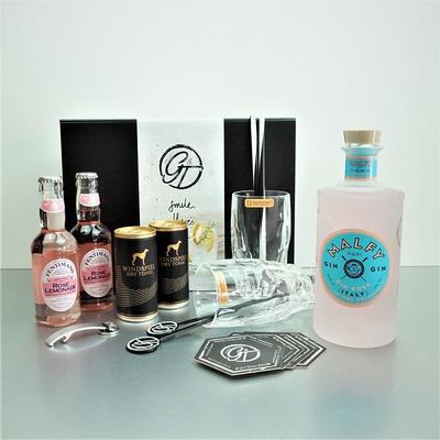 Malfy Gin Rosa & Tonic Geschenkeset