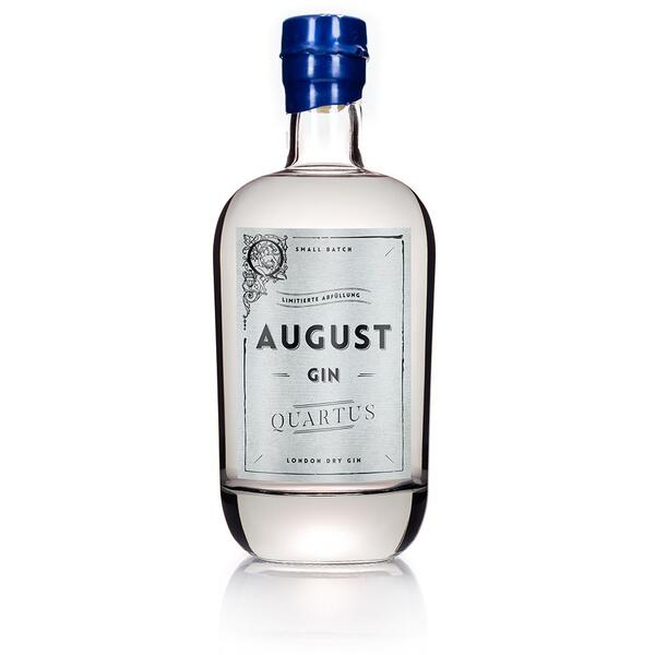 """August Gin """"Quartus"""" Limeted Edition"""