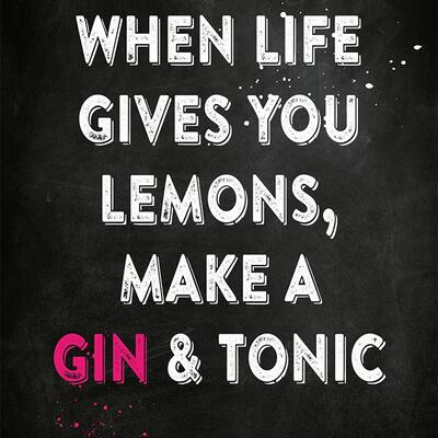 Gin Postkarte No2