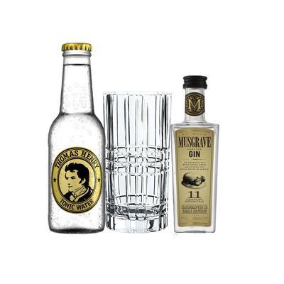 Musgrave Gin Tasting Set incl. Nachtmann Glas