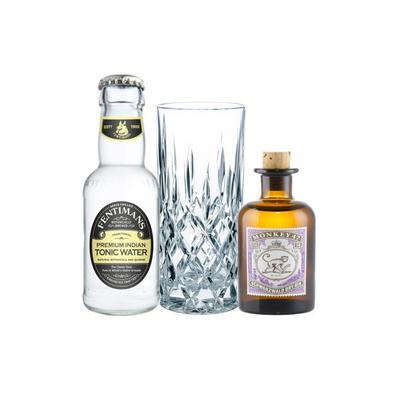 Monkey 47 Gin Tasting Set incl. Nachtmann Glas