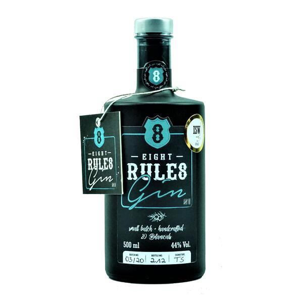 8 Rules Premium Gin