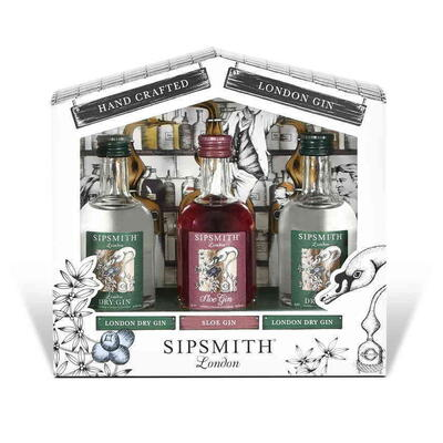 Tasting Sipsmith Trial Pack