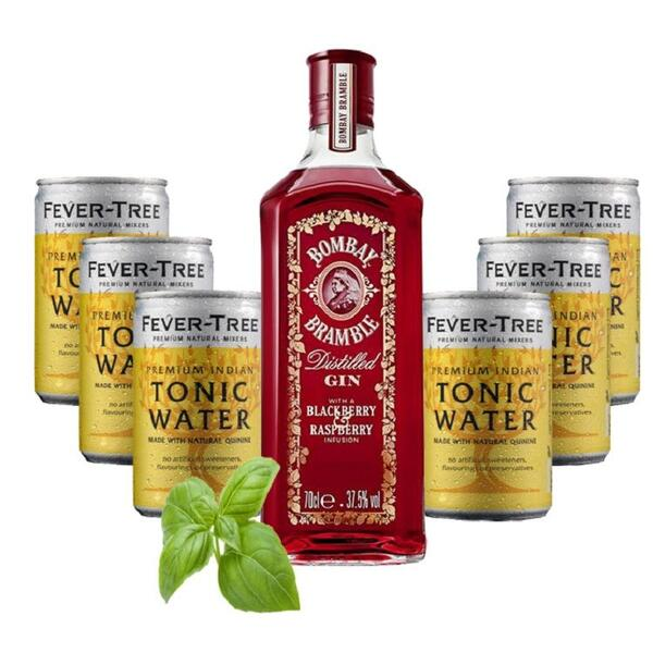 Bramble Distilled Gin Bombay Sapphire & Fever Tree Set