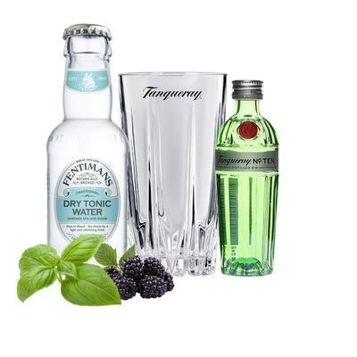 Tanqueray No10 Gin Tasting Set incl. Tanqueray Cocktailglas