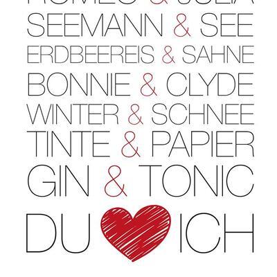 Gin Postkarte No5