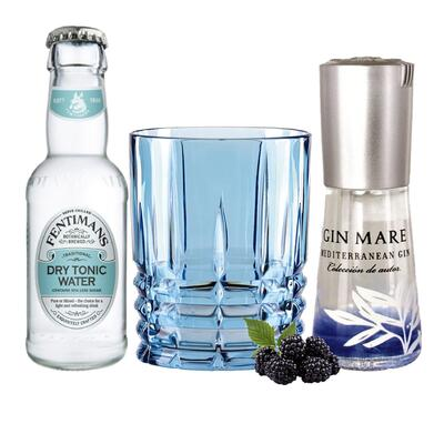 Gin Mare Tasting Set incl. Highland Aqua Glas