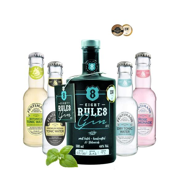 8 Rules Gin & Fentimans Tonic Mix