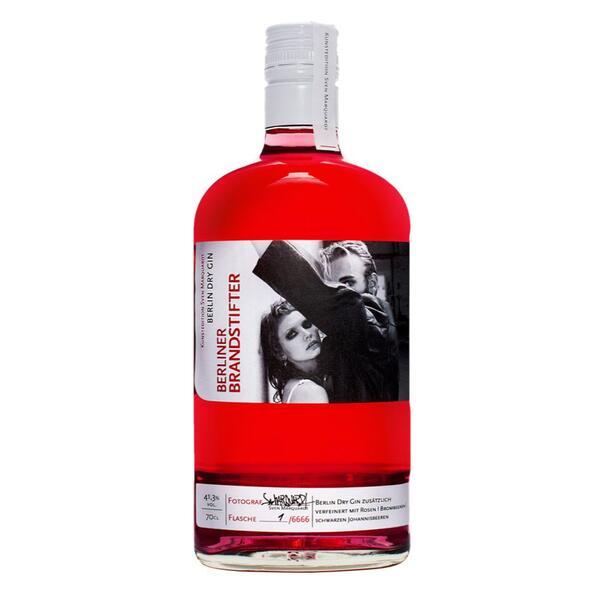 Berliner Brandstifter Dry Gin Kunstedition
