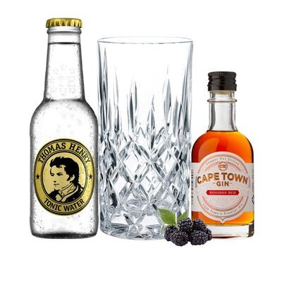 Cape Town Rooibos Red Gin Tasting Set incl. Nachtmann Glas