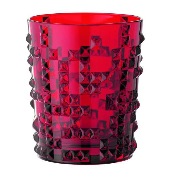 Nachtmann Punk Becher Ruby rubinrot Gin Glas - 2er Set