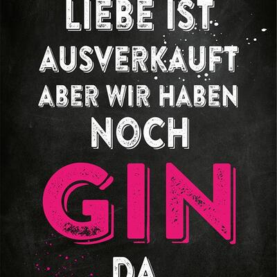 Gin Postkarte No4