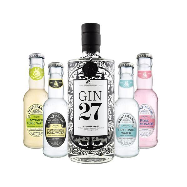 GIN 27 & Tonic Water Mix