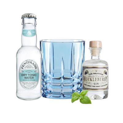 Huckleberry Gin Tasting Set incl. Nachtmann Glas
