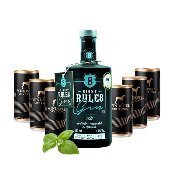 8 Rules Gin & Windspiel Dry Tonic