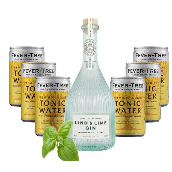 Lind and Lime Gin & Fever Tree Set