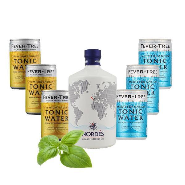 Gin Nordes Atlantic Galician & Fever Tree Tasting Mix