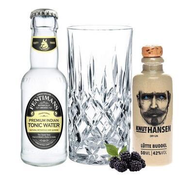 Knut Hansen Dry Gin Tasting Set incl. Nachtmann Glas